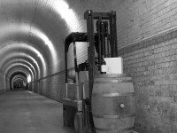 Forklift facilities available at The Tunnels Wine Storage
